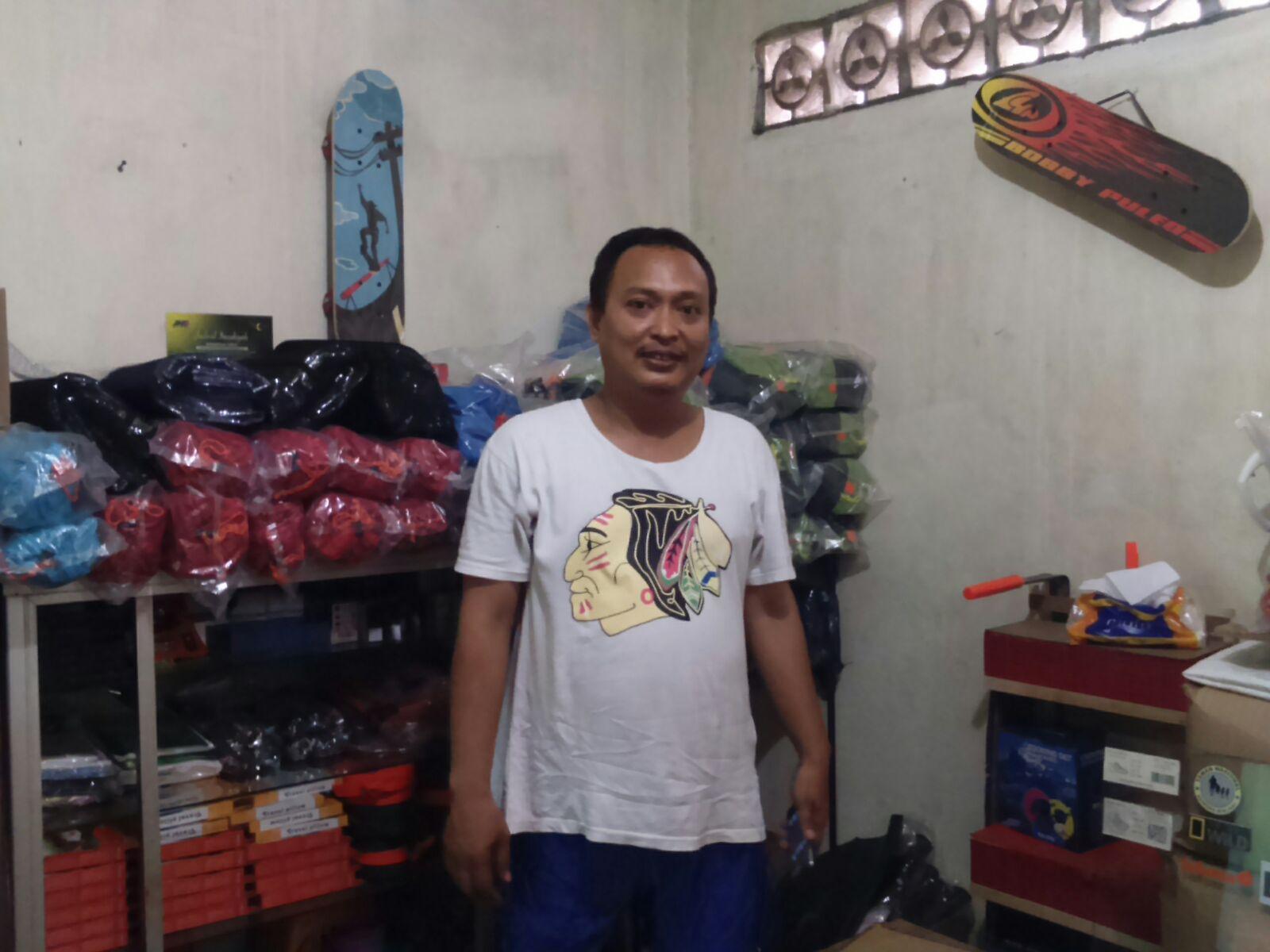 Bisnis Alat Outdoor Bang Faqih