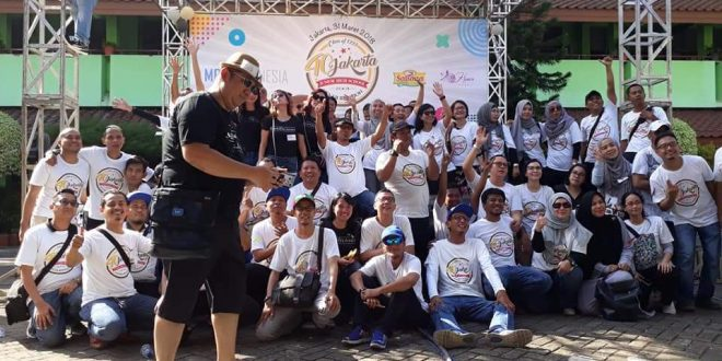 Alumni SMP 40 Jakarta Angkatan 93 Bantu Sekolah Saat Reuni