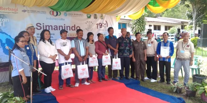 Alumni SMA 7 Baksos Keliling Indonesia, Kali ini Di Samosir