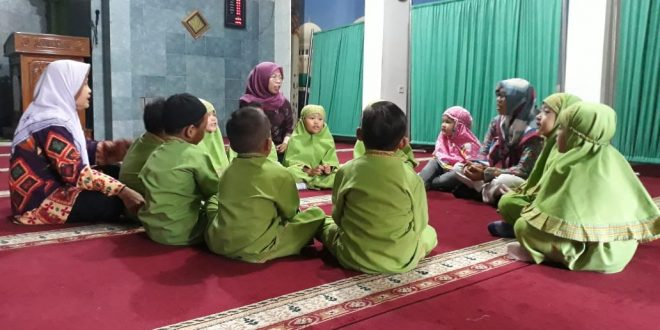 Pelajaran Kebajikan Di TK Cendrawasih