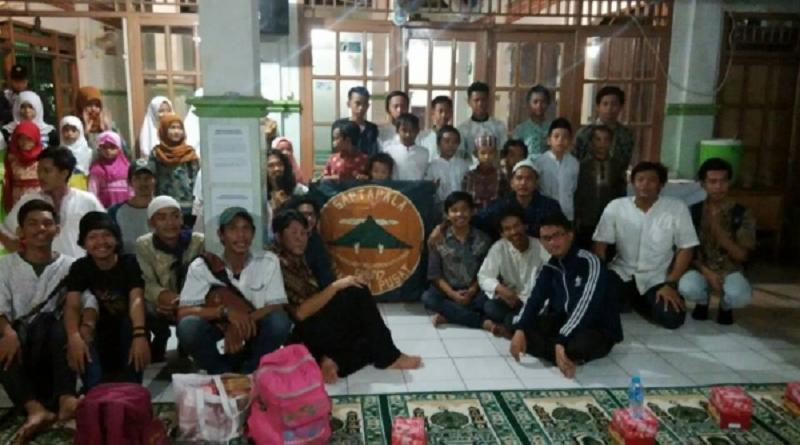 Siswa Pencinta Alam Sapta Pala SMA 7 Jakarta Isi Ramadhan Dengan Santuni Yatim