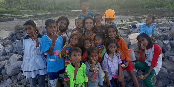 Terima Kasih Tulus Dari Anak Korban Banjir NTT
